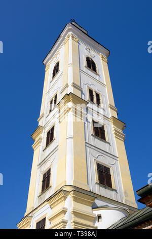 Velika Remeta Monastery Bell Tower, Fruska Gora, Serbia - Stock Image