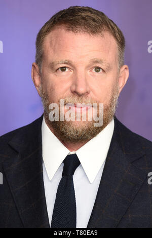 London, UK. 09th May, 2019. LONDON, UK. May 09, 2019: Director Guy Ritchie at the 'Aladdin' premiere at the Odeon Luxe, Leicester Square, London. Picture: Steve Vas/Featureflash Credit: Paul Smith/Alamy Live News - Stock Image