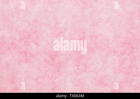 Japanese vintage pink color paper texture or grunge background - Stock Image