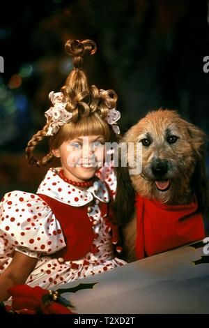 TAYLOR MOMSEN, MAX THE DOG, HOW THE GRINCH STOLE CHRISTMAS, 2000 - Stock Image