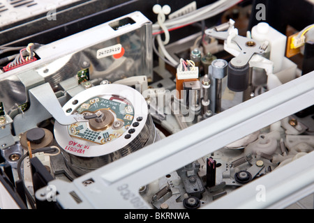 Interior of a VCR - Stock Image