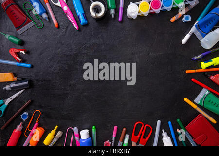 Education or back to school concept with space for your text - Stock Image