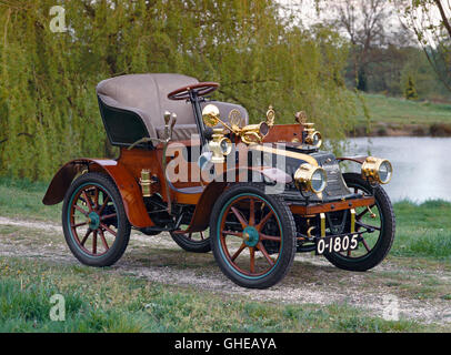1903 Peugot Bebe Series C open 2 seater Country of origin France - Stock Image