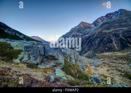 Mountains in fall - Stock Image