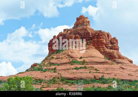 Bell Rock near Sedona, Arizona, USA. - Stock Image