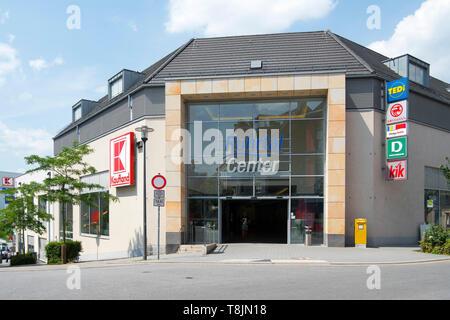 Deutschland, Nordrhein-Westfalen, Wetter (Ruhr), Ruhrtalcenter - Stock Image