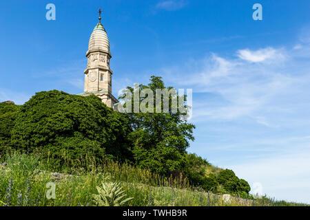 Battle of Durnstein Monument. Wachau valley. Austria. - Stock Image