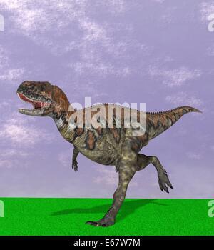 Dinosaurier Skorpiovenator / dinosaur Skorpiovenator - Stock Image