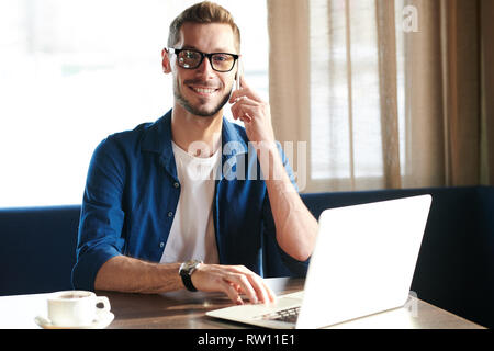Busy employee - Stock Image