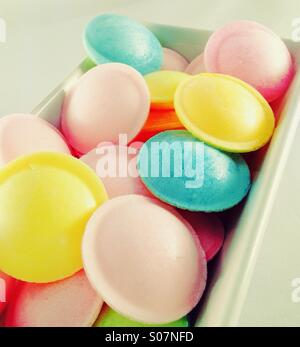 Flying Saucer Sweets - Stock Image
