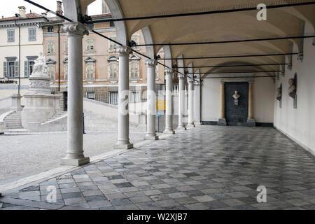 Italy, Friuli Venezia Giulia, Udine, Piazza Libertà, Loggia di San Giovanni - Stock Image