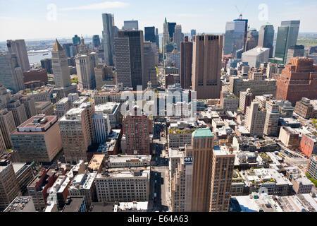 Lower Manhattan, New York, USA - Stock Image