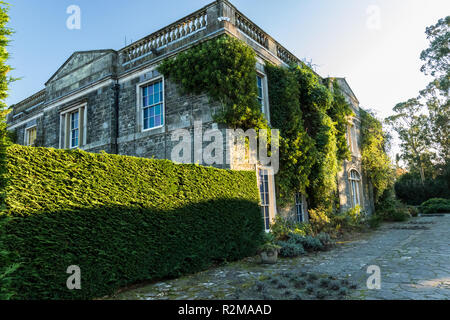 Sideview of Mount Stewart House near Newtownards, County Down, N.Ireland - Stock Image