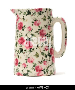 Chintz Design Pattern Pottery Ceramics Tableware FOR EDITORIAL USE ONLY - Stock Image