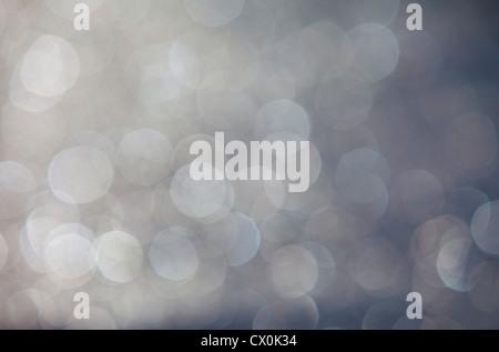 Blurry light spots , bokeh - Stock Image
