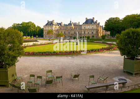 Luxembourg Garden - Stock Image