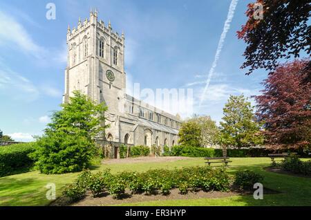 Christchurch Priory Dorset England UK - Stock Image