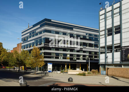 Coventry University The Hub building on Jordan Well in Coventry city centre UK - Stock Image