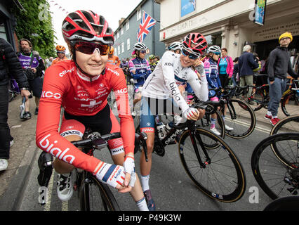 Nicole Hanselmann Swiss national road race champion - Stock Image