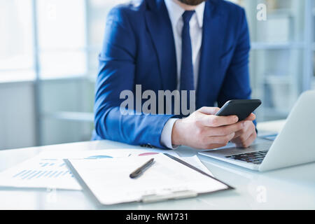 Business supplies and gadgets - Stock Image