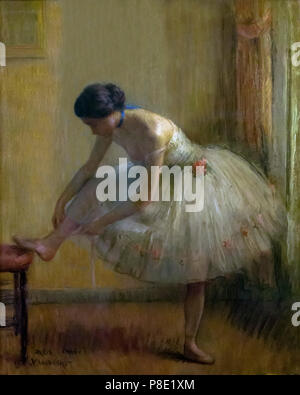 In the Dressing Room, Louis Kronberg, 1910, Isabella Stewart Gardner Museum, Boston, Mass, Massachusetts, North America, US, USA - Stock Image
