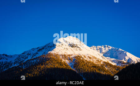 Dolomites Mountains, autumn landscape in the The Ultental ( Val d'Ultimo ) in South Tyrol, Alps, northern Italy, Europe. Beauty of nature concept . - Stock Image