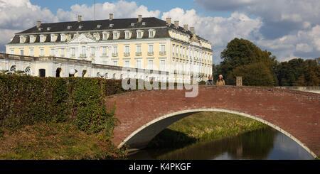Unesco, Schloss Brühl, Near Cologne / Bonn, Germany - Stock Image