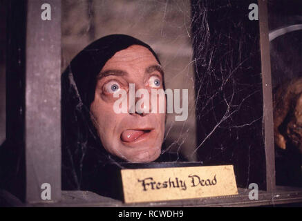 YOUNG FRANKENSTEIN 1974  20th Century Fox film with Marty Feldman - Stock Image