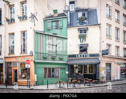 Odette Cafe in Paris - Stock Image