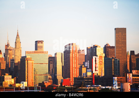 TRUMP, WORLD, TOWER,, NEW, YORK, CITY,, NYC,, MANHATTAN,, CHRYSLER, BUILDING,, EMPIRE, STATE, BUILDING,, SKYSCRAPERS,, - Stock Image
