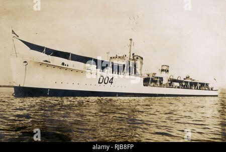 HMS Seraph (D04), British S-class destroyer. - Stock Image