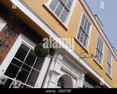 Elm Hill, Norwich, Norfolk, UK - Stock Image