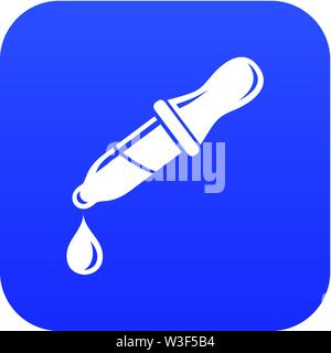 Pipette icon, simple style - Stock Image