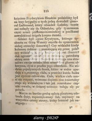 PL Hans Christian Andersen Tylko grajek tom I 121 - Stock Image