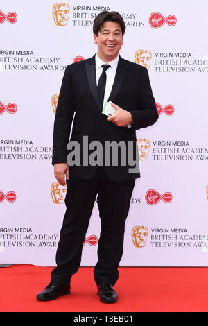 London, UK. 12th May, 2019. LONDON, UK. May 12, 2019: Michael McIntyre arriving for the BAFTA TV Awards 2019 at the Royal Festival Hall, London. Picture: Steve Vas/Featureflash Credit: Paul Smith/Alamy Live News - Stock Image