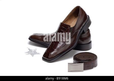 Designer shoes - Stock Image