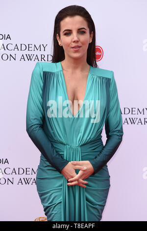 LONDON, UK. May 12, 2019: Jamie-Lee O'Donnell arriving for the BAFTA TV Awards 2019 at the Royal Festival Hall, London. Picture: Steve Vas/Featureflash - Stock Image