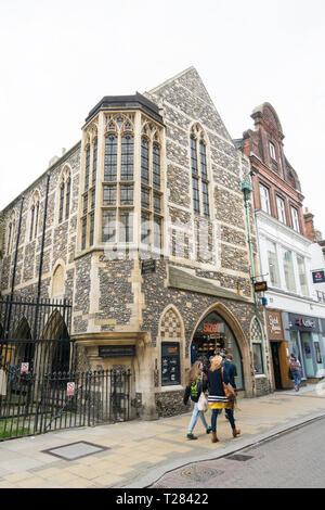 Henry Martin Hall Market Street Cambridge - Stock Image