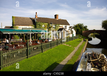 The Black Boy pub, Knowle, near Solihull, Warwickshire, England, UK, Britain, England, British, English, country, - Stock Image