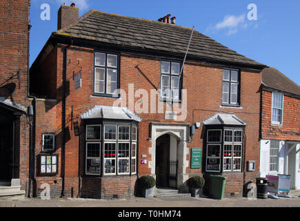 the old town hall in steyning west sussex - Stock Image