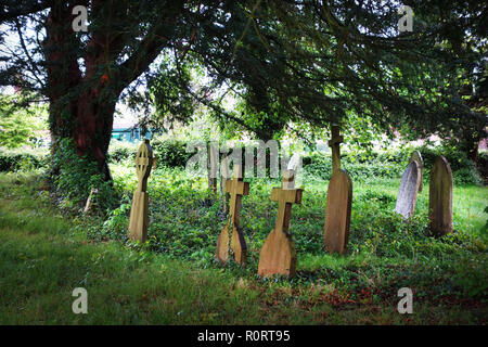 Westfield cemetery, Kent United Kingdom - Stock Image
