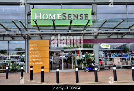 Exterior Home Sense retail store, England, UK - Stock Image