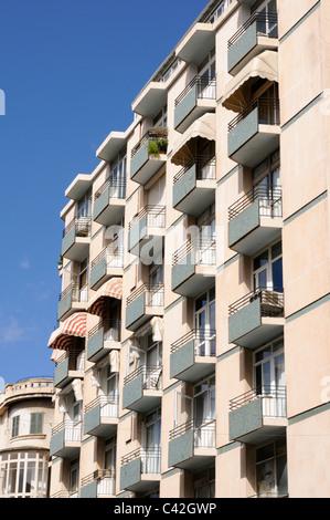 Mehrfamilienhaus in der Innenstadt von Palma, Mallorca, Spanien. - Multi-family house in downtown Palma, Majorca, - Stock Image
