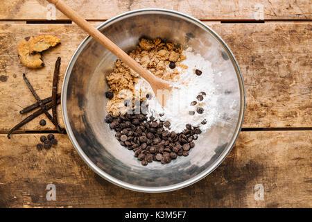 Cookie Dough - Stock Image