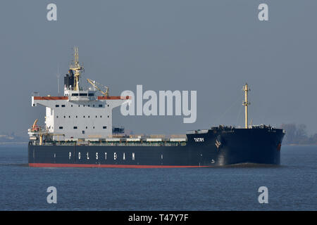 Bulk Carrier Tatry - Stock Image
