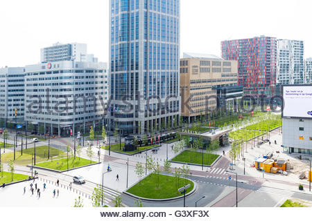 Millennium Tower, The Manhattan Hotel Rotterdam, Rotterdam, Holland. - Stock Image