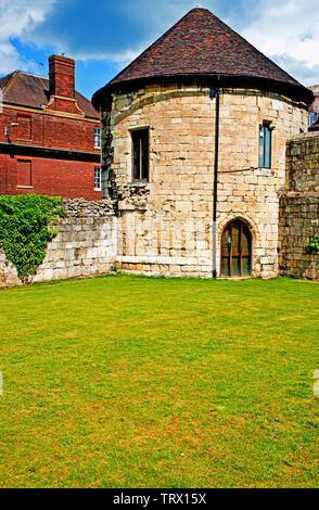 Marygate Tower, Marygate, York, England - Stock Image