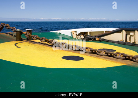 MCA Anglian Prince tugboat in the Minch - Stock Image