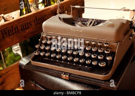 Old typewriter - Stock Image