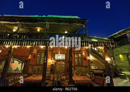 Erzurum Old Houses. Erzurum. Turkey - Stock Image